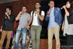 Jigar, Krishna DK, Kunal Khemu, Raj Nidimoru and Priya Panchal at 'Go Goa Gone' Music Launch