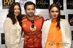"Kalki Koechlin, Emraan Hashmi And Huma Qureshi At ""Ek Thi Daayan"" Movie press conference in New Delhi"