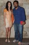 Kalki Koechlin and Anurag Kashyap attend 'Bombay Talkies' Special Screening