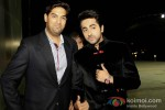 Kunaal Roy Kapur And Ayushmann Khurrana At Nautanki Saala Movie Premiere in Dubai