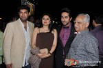 Kunaal Roy Kapur, Gaelyn Mendoncai, Ayushmann Khurrana And Ramesh Sippy At Music Success Bash of 'Nautanki Saala'