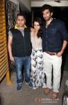 Mohit Suri, Shraddha Kapoor And Aditya Roy Kapur At Special Screening of Aashiqui 2