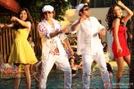 Neha Sharma, Bobby Deol, Sunny Deol, and Kristina Akheeva in Yamla Pagla Deewana 2 Movie Stills