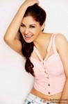Pooja Chopra poses for the shutterbugs