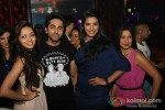 Pooja Salvi, Ayushmann Khurrana And Gaelyn Mendonca At Nautanki Saala Movie Premiere in Dubai Pic 1