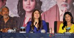 Prakash Jha, Kareena Kapoor And Amrita Rao at press conference of Satyagraha movie in Bhopal