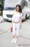 Puja Gupta At Wrap up shoot of 'Shortcut Romeo'
