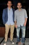 Raj Nidimoru and Krishna DK at 'Go Goa Gone' Music Launch
