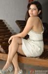 Rekha Rana glances into the camera