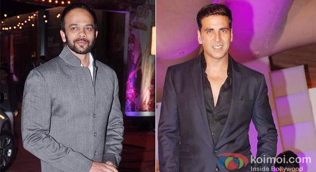 Rohit Sheety And Akshay Kumar