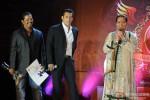 Salman Khan and Dorris Godambe at Bharat-N-Dorris Hair & Make-up Awards 2013