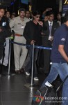 Shah Rukh Khan Leave For TOIFA 2013