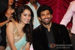 Shraddha Kapoor And Aditya Roy Kapur At Aashiqui 2 Music Launch Pic 1
