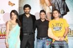 Shraddha Kapoor, Aditya Roy Kapur, Bhushan Kumar, Mohit Suri At Aashiqui 2 Music Launch Pic 1