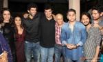 Shraddha Kapoor, Vidya Balan, Aditya Roy Kapur, Siddharth Roy Kapur, Mukesh Bhatt, Mohit Suri and Vishesh Bhatt attend Aashiqui 2 Special Screening