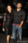 Shraddha Kapoor and Aditya Roy Kapur attend Aashiqui 2 Special Screening