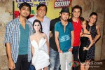 Siddharth, David Dhawan, Divyendu Sharma, Ali Zafar And Taapsee Pannu At 'Chashme Baddoor' Movie Premiere