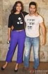 Sonam Kapoor and Varun Dhawan attend 'Bombay Talkies' Special Screening