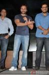 Sunil A Lulla, Saif Ali Khan and Dinesh Vijan at 'Go Goa Gone' Music Launch