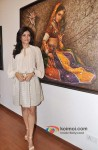Sushmita Sen at Gautam Patole's art exhibition 'WOMEN AND WE MEN' Pic 4