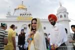 Veena Malik snapped at Gurudwara Pic 6