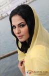 Veena Malik snapped at Gurudwara Pic 1