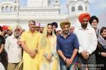 Veena Malik snapped at Gurudwara Pic 5