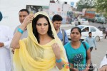 Veena Malik snapped at Gurudwara Pic 12