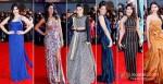 Zarine Khan, Nargis Fakkri, Neha Dhupia, Mugdha Godse, Priyanka Chopra And Aditi Rao Hydari walk the red carpet of TOIFA 2013