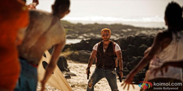 Saif Ali Khan in a still from Go Goa Gone Movie