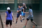 Aamir Khan snapped playing Football with daughter Ira