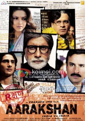 Aarakshan Movie Poster