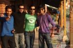 Aarya Kumar, Dhruv Ganesh, Raj Kumar Yadav and Anshuman Jha in Boyss Toh Boyss Hain Movie Stills Pic 1