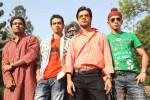 Aarya Kumar, Dhruv Ganesh, Raj Kumar Yadav and Anshuman Jha in Boyss Toh Boyss Hain Movie Stills Pic 2