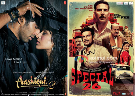 Aashiqui 2 And Special Chabbis Movie Poster