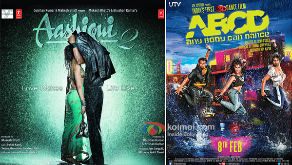 Aashiqui 2 And ABCD movie poster