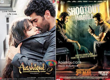 Aashiqui 2 And Shootout At Wadala Movie Poster