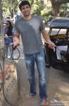 Aditya Roy Kapur snapped at Bandra Pic 1
