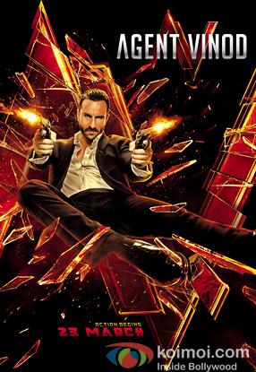 Agent Vinod Movie Poster
