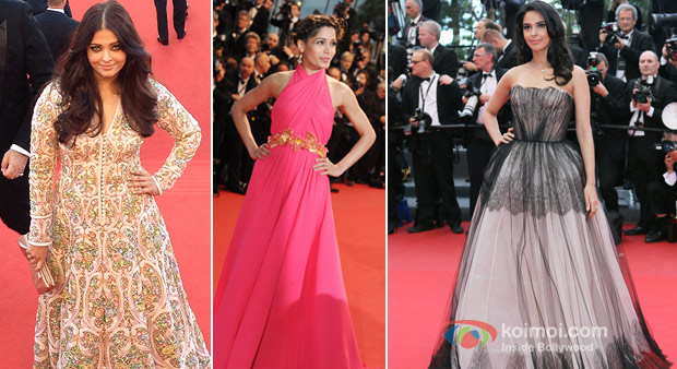 Aishwarya Rai Bachchan, Freida Pinto And Mallika Sherawat