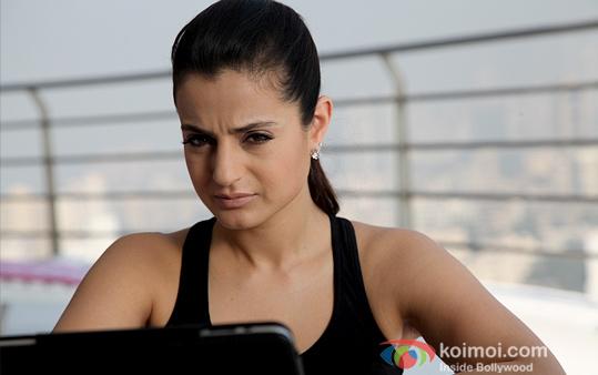 Ameesha Patel in Shortcut Romeo Movie Stills