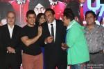 Anupam Kher, Aamir Khan and Dharmendra at Music Launch of 'Yamla Pagla Deewana 2'