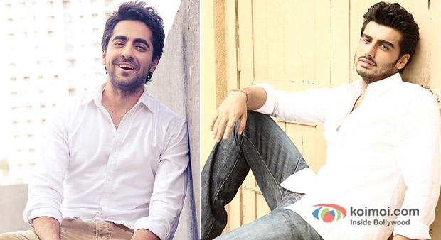 Ayushmann Khurrana And Arjun Kapoor