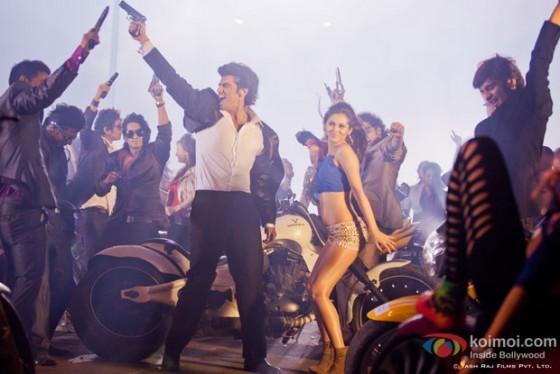 Arjun Kapoor and Sasheh Aagha in Aurangzeb Movie Stills