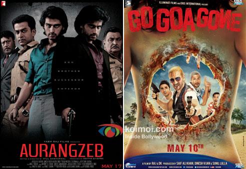Aurangzeb And Go Goa Gone Movie Poster