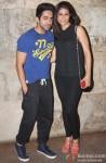 Ayushmann Khurrana and Tahira Kashyap at Special Screening of 'Bombay Talkies'