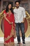 Ayushmann Khurrana walks the ramp at 'Silhouettes 2013 - Bollywood Bytes' Pic 1