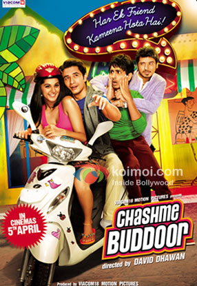 Chashme Baddoor Movie Poster