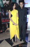 Chetan Bhagat with his wife at the Premiere of 'The Reluctant Fundamentalist'