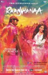 Dhanush and Sonam Kapoor in Raanjhanaa Movie Poster 1